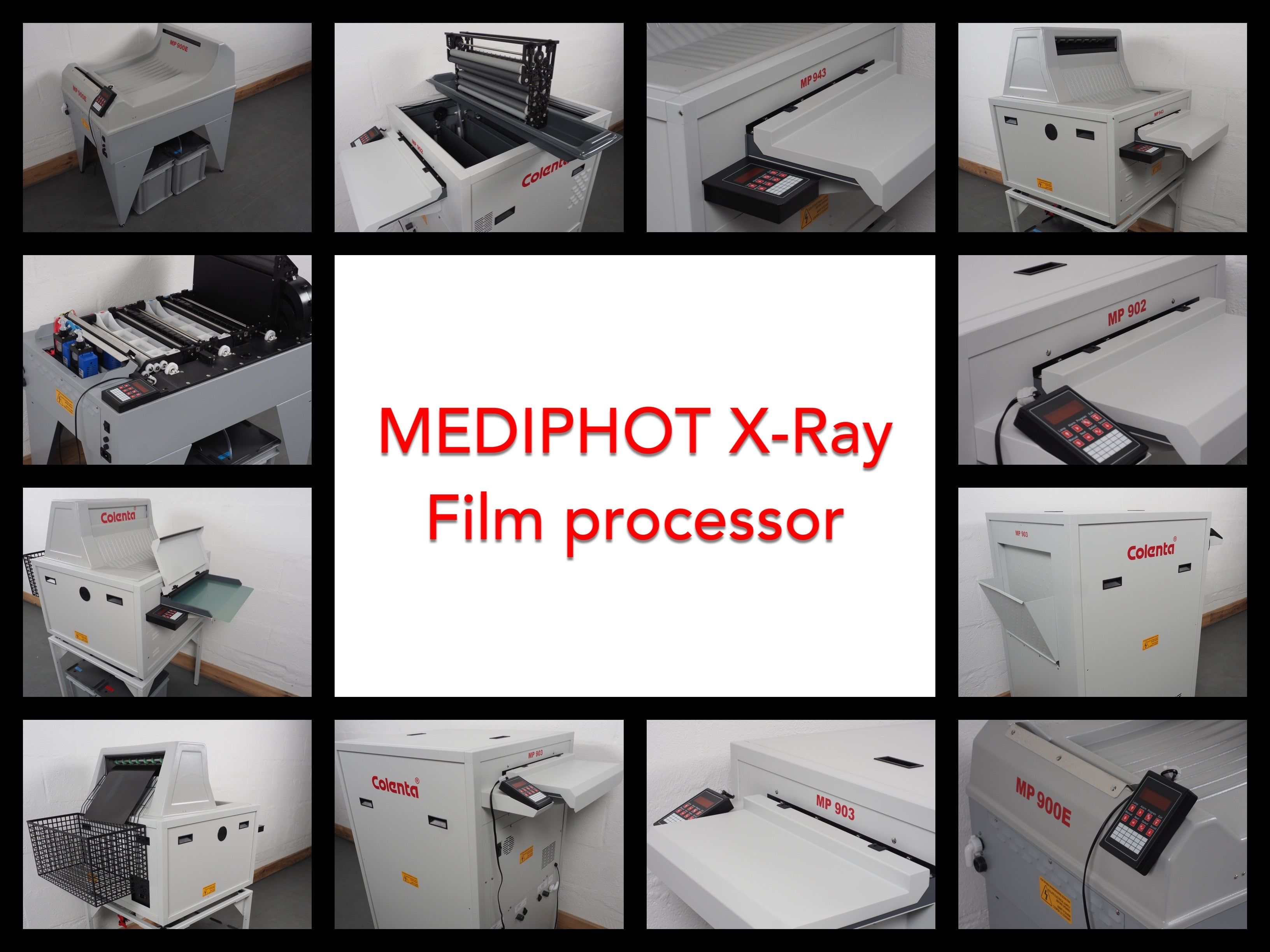 Mediphot X-Ray Film Processors